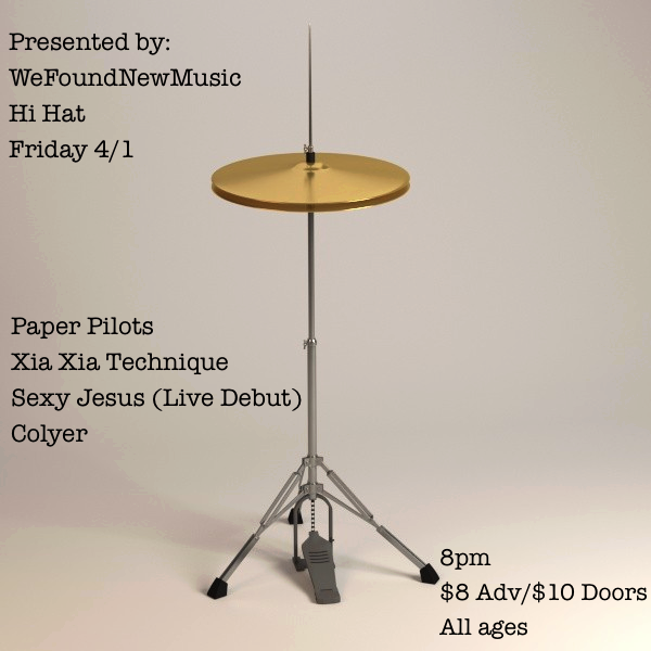 Hi Hat flyer
